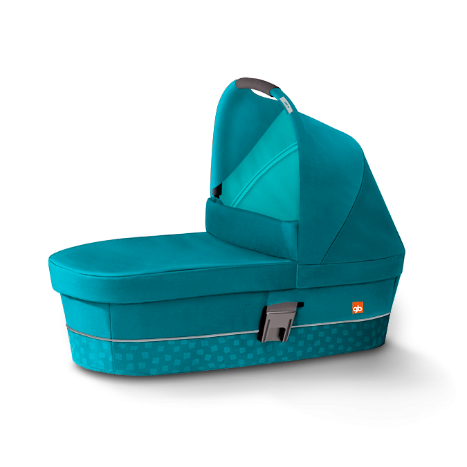 gb Carry Cot Capri Blue 2016