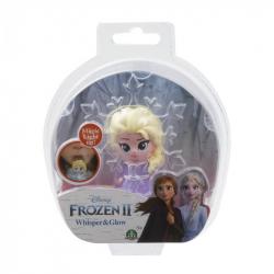 Frozen 2: 1-pack svietiace mini bábika - Elsa Opening