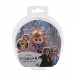 Frozen 2: 1-pack svietiace mini bábika - Anna Travelling