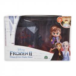 Frozen 2: display set svietiace mini bábika - Anna