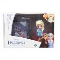 Frozen 2: display set svietiace mini bábika - Elsa