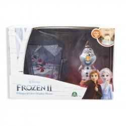 Frozen 2: display set svietiace mini bábika - Olaf