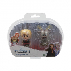 Frozen 2: 2-pack svietiace mini bábika - Kristoff & Sven