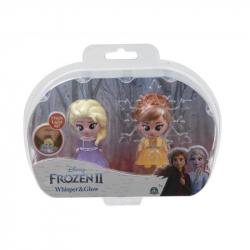 Frozen 2: 2-pack svietiace mini bábika - Elsa Opening & Ana Opening