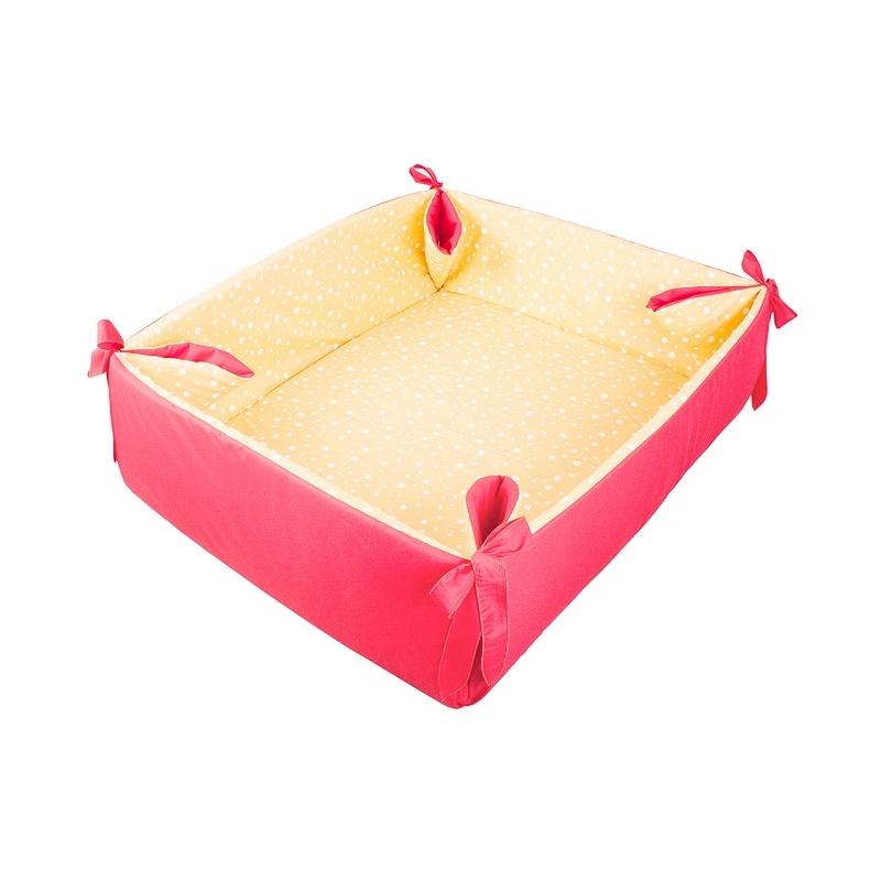 Ohrádka/hrací deka červená 057 ZU/CZW
