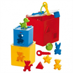 Gowi Krabička na zámok s vhadzovaním tvarov