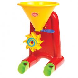 Mini mlyn na vodu a piesok červený