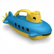 Green Toys - Ponorka žltá rukoväť