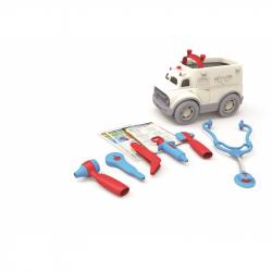 Green Toys  Záchranka s lékařským vybavením
