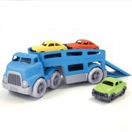 Laweta z trzema autami Green Toys