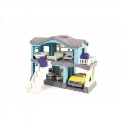 Green Toys Domček modrý