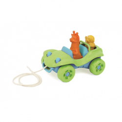 Green Toys Pulling car green