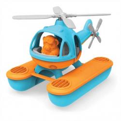 Green Toys - Vrtulník hydroplán modrý