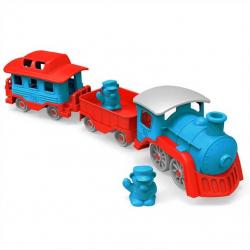 Green Toys - Vlak modrý