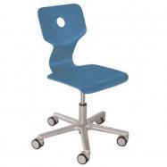 Rosnące krzesełko Haba Matti Beech niebieskie