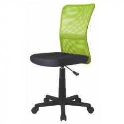 Dětská otočná židle DINGO zelená-černá