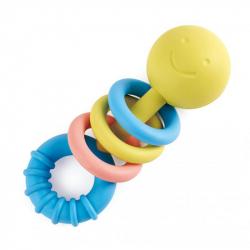 ECO BABY - Kousátko s kroužky