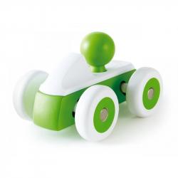 Kołyszaca się wyścigówka zielona