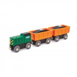 Pociąg towarowy z silnikiem Diesla
