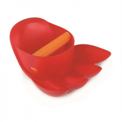 Hračky na písek - Velká tlapa, červená