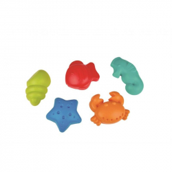 Hračky na písek - Bábovičky mořský život
