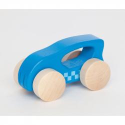 HAPE dřevěné hračky - dřevěné barevné autíčko