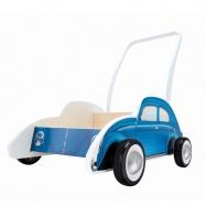 HAPE - Dřevěné chodítko - BEETLE WALKER modrý