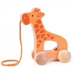 HAPE - Tahací žirafa na kolečkách