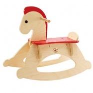 HAPE dřevěný houpací kůň