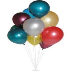 balóniky metalíza