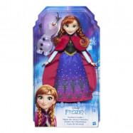 Frozen Princezna Elsa / Anna s třpytivými šaty a kamarádem
