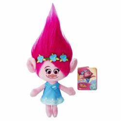 Trolle Pluszowa postać z różowymi włosami