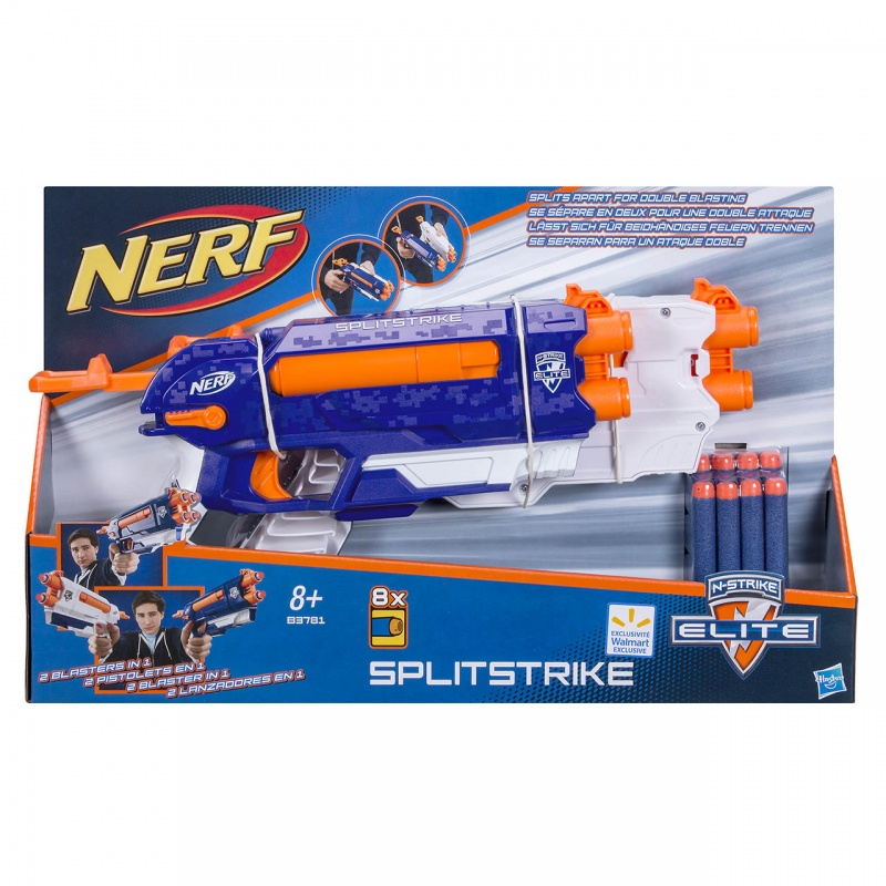 N-STRIKE ALPHA SPLIT STRIKE BLASTER