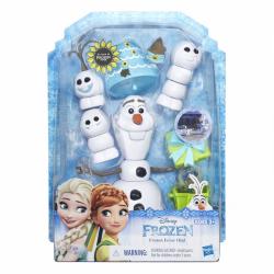 Hasbro Frozen Ľadové kráľovstvo Olaf s párty doplnkami