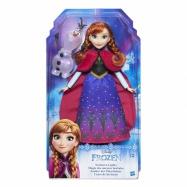 Frozen Panenka Elsa/Anna se třpytivými šatami a kamarádem asst.