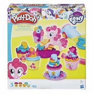 Play-Doh My Little Pony Pinkie Pie a dortíčková oslava