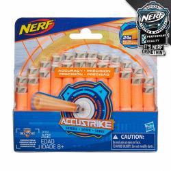 Nerf Accustrike náhradné šípky 24 ks