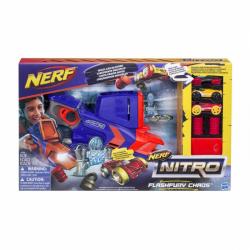 Hasbro Nerf Nitro - Wyrzutnia Flashfury Chaos + 3 samochody