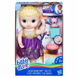 BA Narodeninová blonďavá bábika