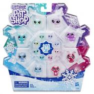 Littlest Pet Shop Zvířátka z ledového království 16 ks