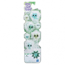 Littlest Pet Shop Zvířátka z ledového království 7ks