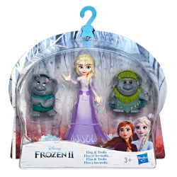 Frozen 2 Mini Figurki Friends
