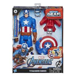 Avengers figúrka Capitan America s Power FX príslušenstvom