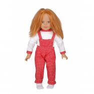 Bábika žmurkajúcej s mäkkým telíčkom 52 cm
