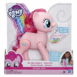 My Little Pony chichotajúca sa Pinkie Pie