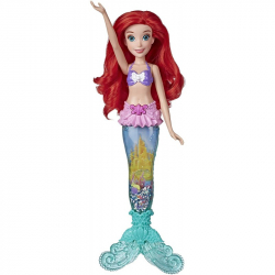 Disney Princess bábika svietiace Ariel do vody