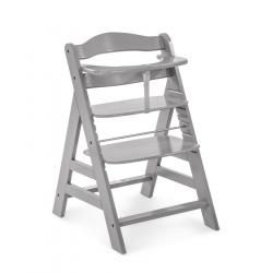 Hauck Alpha+ 2020 židlička dřevěná grey