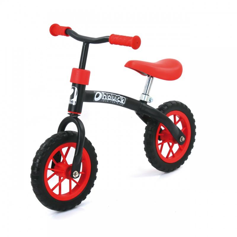 E-Z Rider 10 odrážedlo červeno-černé