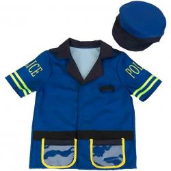 Kostým policajta s čiapkou