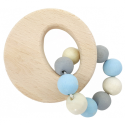 Hess Chrastítko kruh modré